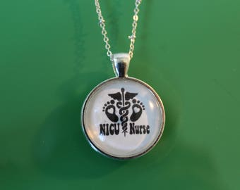 NICU Nurse necklace, preemies, neonatal care