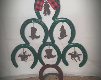 Horseshoe christmas | Etsy