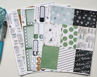Home for the Holidays - Big Happy Planner Weekly Kit