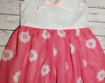 Girls Party Dress, Girls Dress, Summer Dress, Floaty Dress, Floral Dress, Girls Clothing
