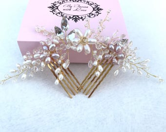 Bridal Hair Combs - Wedding Hair Comb