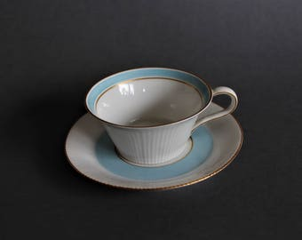 Rare Cup with Saucer NYMPHENBURG ca. 1930 year ART DECO