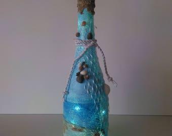 Seaside Respite LED Bottle Light