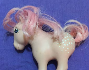 Vintage My Little Pony G1 Parasol and Cotton Candy