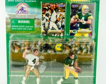 Starting Lineup NFL Classic Doubles Brett Favre Green Bay Packers Action Figure