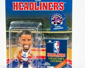 NBA Headliners Damon Stoudamire Figure Toronto Raptors