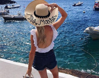 Custom Sequin Floppy Hat