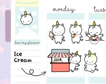 Petitcorn-Dearmyplanner-Ice Cream Petitcorn (dm17-011)