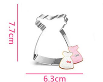 Baby Dress Cookie Cutter- Fondant Biscuit Mold - Pastry Baking Tool Set