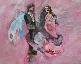Romantic series painting 1