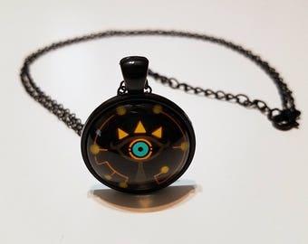 The Legend of Zelda Sheikah Necklace (Yellow)