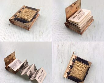 Charming Opening Book Stratford/Shakespeare Themed Locket