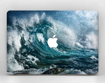 Sea Wave Decal Mac Pro Skin Laptop Skin MacBook Pro 15 Mac Pro Decal MacBook Air 13 Pro Retina Ocean MacBook Pro 2017 Mac Pro Sticker Blue