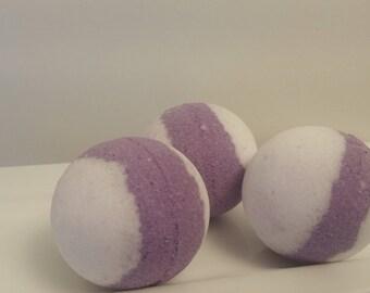 Lavender Sleepytime Bath Bombs