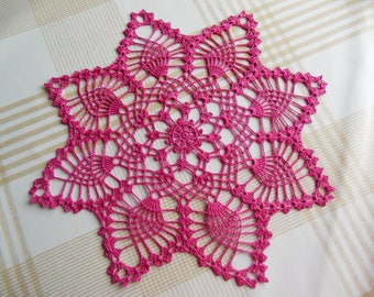 "Doily crochet ""Kiribati"""