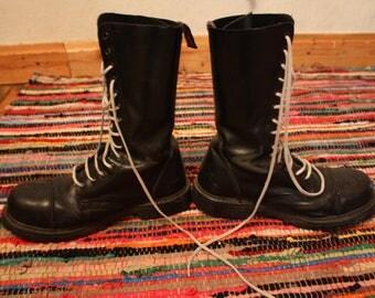 punk combat boots 42/8