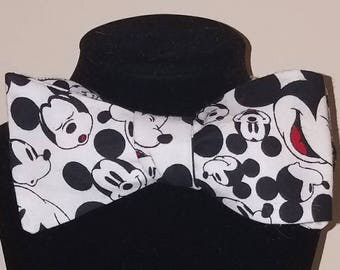Mickey Mouse Expressions Self Tie Bowtie