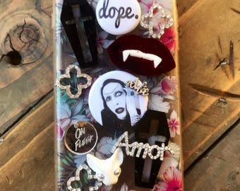 The dope show/Marilyn Manson/custom/3/one-of-a-kind/iPhone 7/phone case phone cases