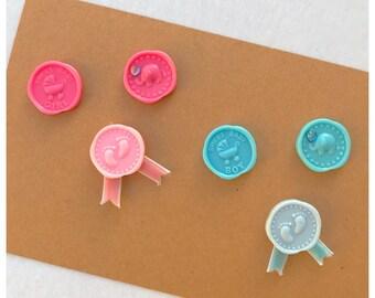 Its a Boy / Girl / New Baby Seals / Newborn Embellishments