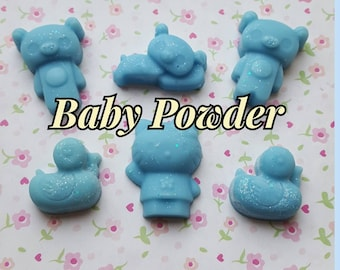 Baby Powder Teddy Bear & Duck Wax Melts