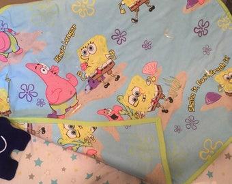 Spongebob Squarepants Baby Quilt/Blanket