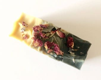 Charcoal Rosehip Soap - Neem Oil Soap - Shea Butter Soap - Goat Milk Soap - Acne Soap - Handmade Soap - All Natural Soap - Tea Tree Soap