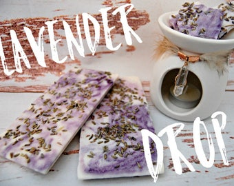 Lavender Drop Bark Brittle Bar