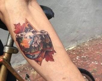 Explore It All - Realistic Temporary Tattoo
