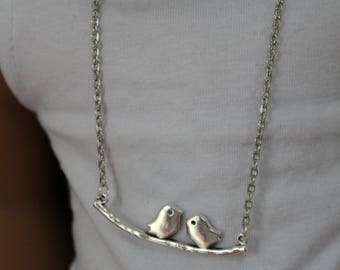 Birds necklace for 18 inch dolls