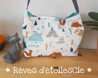 Mountain Fox OWL diaper bag