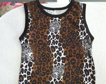 Leopard Skin Ethnic Tshirt