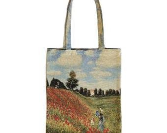 French Tapestry Bag - Monet