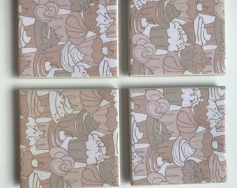 Soulfood tile coasters