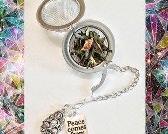 Peace tea infuser