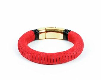 Fade To Suede Bracelet