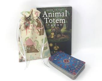 Fairy House Tarot Bag, Tarot Pouch, Tarot Deck, Tarot Card Pouch, Tarot Card Holder, Tarot Deck Box, Runes, Runes Bag, Witchcraft