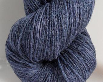 100% Pure Knitting Wool ~ Denim Blue ~ 1 Ply ~ Knit, Crochet, Craft & Yarn ~ 100g
