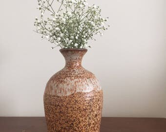 Fat Lava Ceramic Vase | West Germany Pottery