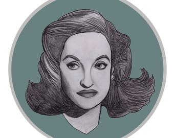 Bette Davis limited edition print