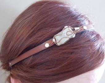Healing Crystal Headbands Hair Accessories