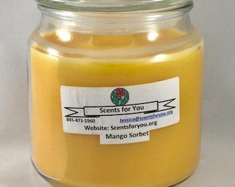 Mango Sorbet Large Candle