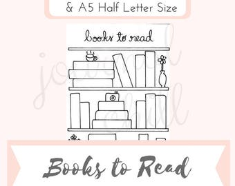 Books to Read: Bullet Journal Printable