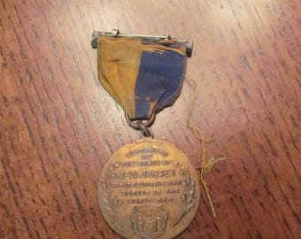 WORLD WAR ONE New Jersey 1917-1918 Victory Medal