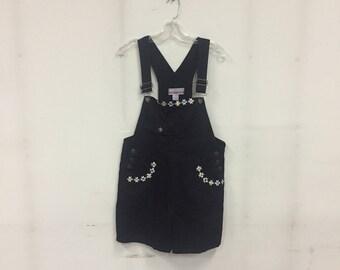 Daisy short overalls