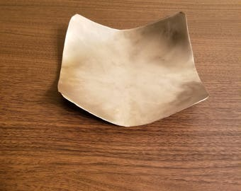 Hand Shaped Dish stainless steel