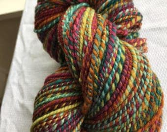Handspun polwarth wool yarn