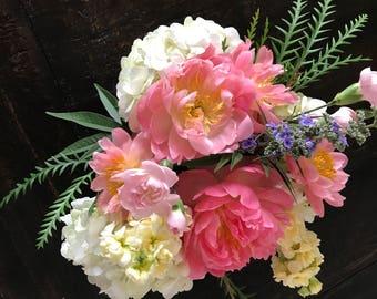 Acacia Floral Framed Photo