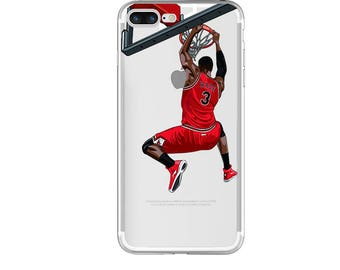 "Basketball iPhone Case, The ""Wade Slam Dunk"" Basketball Phone Case, Basketball Phone Case, iPhone Case / Fits iPhone 5, iPhone 6, iPhone 7"
