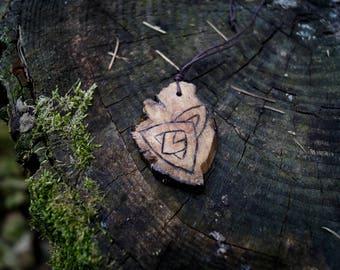 Earth Stone - Pendant Driftwood