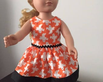 "Halloween Dress for 18"" Dolls"
